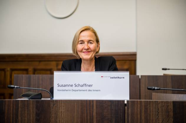 Susanne Schaffner, Gesundheitsdirektorin des Kantons Solothurn