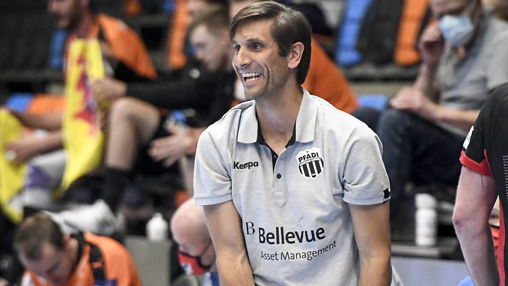 Trainer Adrian Brüngger kommt mit Pfadi um die Europacup-Qualifikation herum