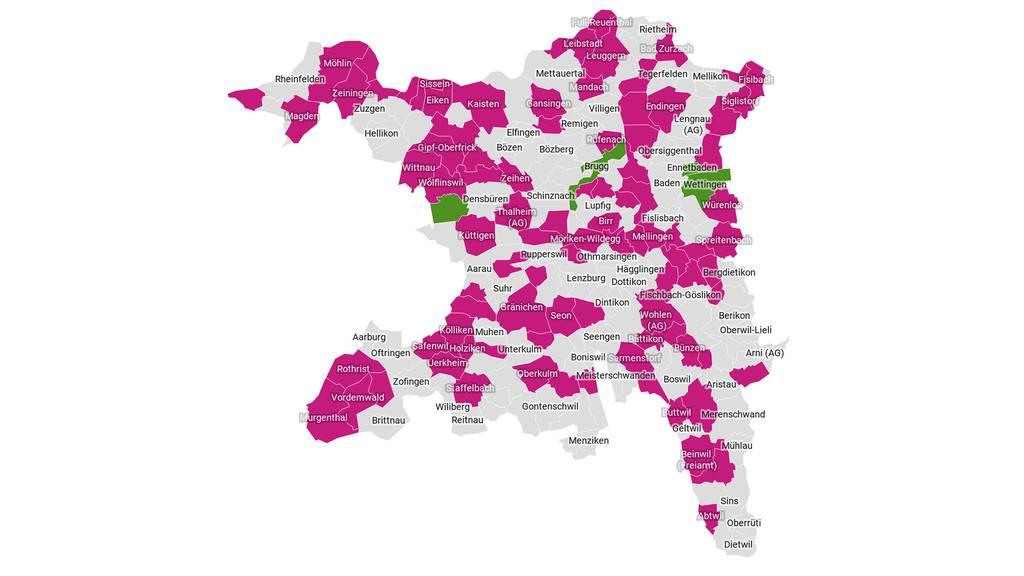 Interaktive Karte: So hat deine Gemeinde abgestimmt