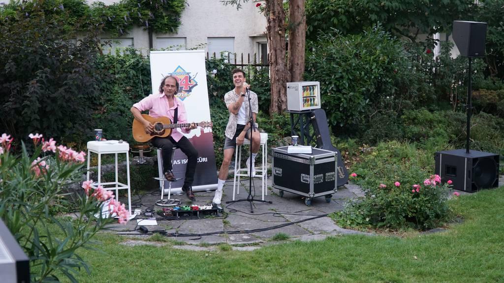 Seven spielte in Hörerin Anninas Garten ein Exklusiv-Konzert