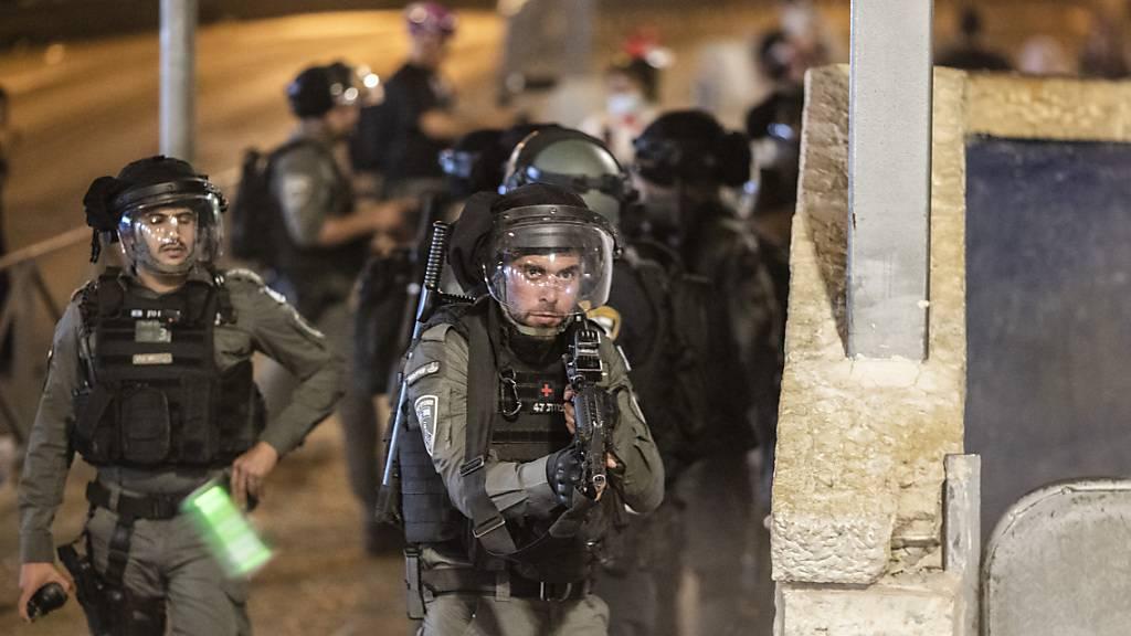 Erneut schwere Zusammenstösse am Tempelberg – Nahost-Gesandte besorgt