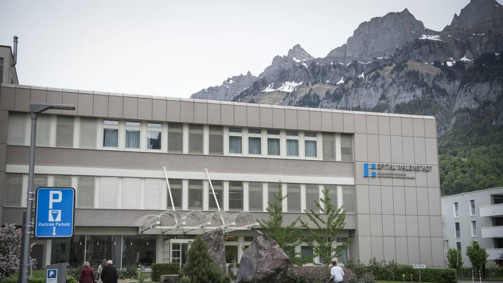 Spital Walenstadt als Rehabilitationszentrum für Covid-19-Patienten