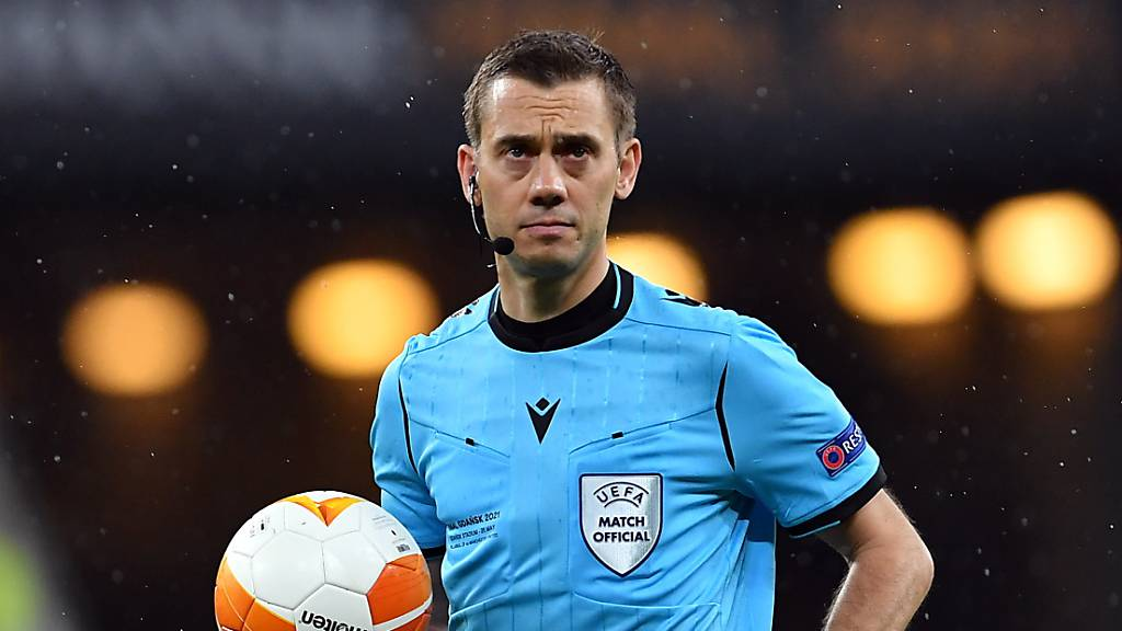 Französischer Schiedsrichter für Schweiz - Wales