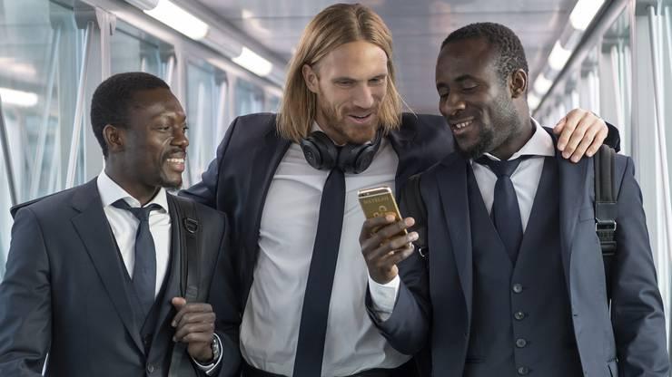 Adama Traoré, Michael Lang und Seydou Doumbia