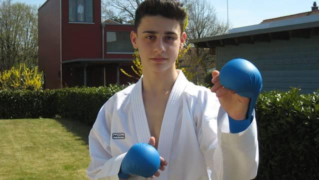 Sportkanti-Schüler Gianluca Vanacore. Foto: ces