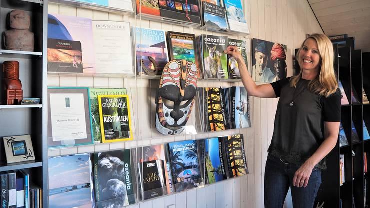 Clare Walker ist seit zwölf Jahren Geschäftsführerin von Ozeania Reisen. ces
