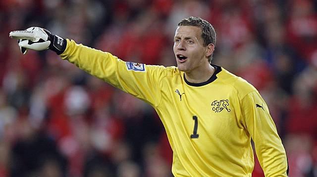 YB-Goalie Marco Wölfli in Aktion (Archiv)