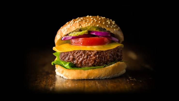 Für diesen Hamburger der Firma Mosa Meat musste kein Tier sterben.