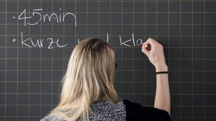 Das durchschnittliche Arbeitspensum der Lehrpersonen im Kanton Solothurn betrug im letzten Schuljahr nur rund 58 Prozent.