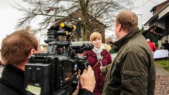 Gefragte Interviewpartnerin: Die 24-jährige Studentin Johanna Gündel.