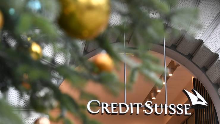 Keine besinnliche Stimmung bei der Credit Suisse.