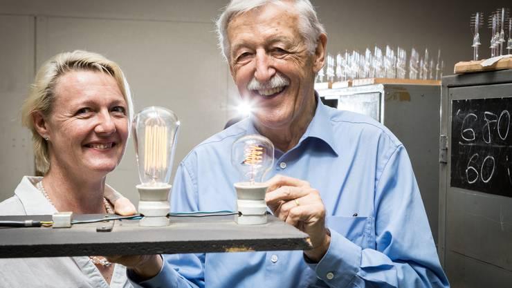 Christina Taiana-Borner hat das Tagesgeschäft für die Righi Licht letztes Jahr von ihrem Vater Hans Borner übernommen.
