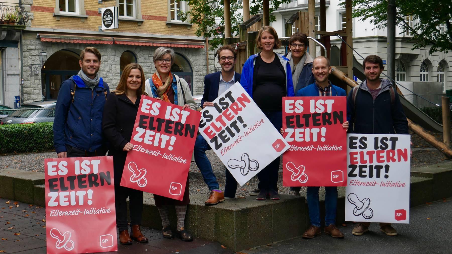 Luzerner SP fordert je 18 Wochen Elternzeit