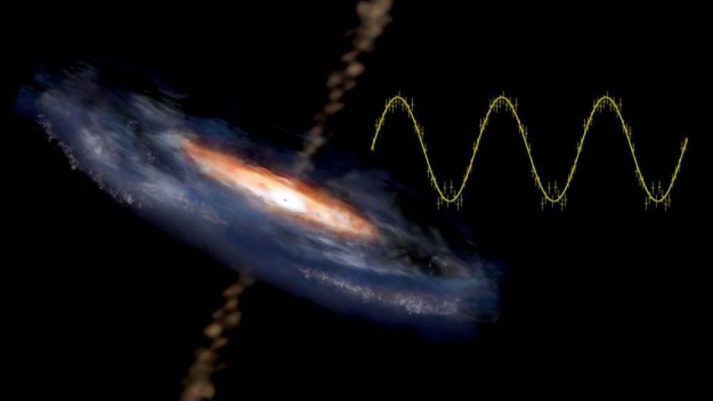 Signale an Schwarzem Loch wiederentdeckt
