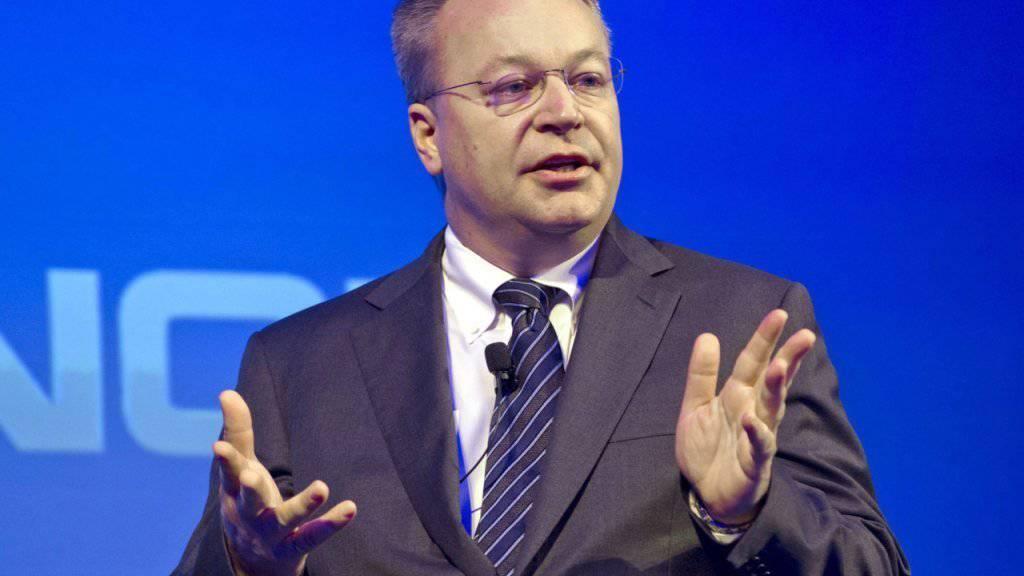 Elop zu Nokia-Zeiten: Nach einem Zwischenhalt bei Microsoft hat der Kanadier einen neuen Job gefunden.