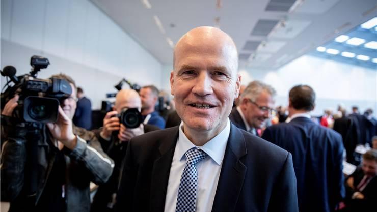 Ralph Brinkhaus im Fokus: Der neue Fraktionschef der CDU/CSU im Bundestag. Keystone
