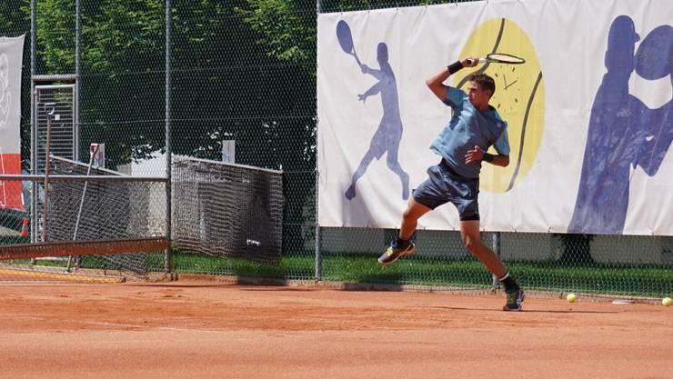 Henri Laaksonen (Bild) siegte in drei Sätzen gegen den Russen Alexey Vatutin.