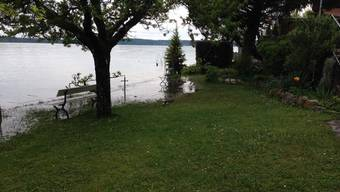 Hochwasser-Lage in der Schweiz
