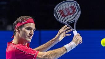 Roger Federer trifft in Runde 2 der Swiss Indoors 2019 auf den Moldauer Radu Albot