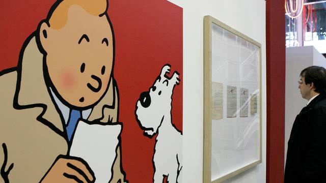 Nach dem Museum auch an der Uni: Tim und Struppi (Archiv)