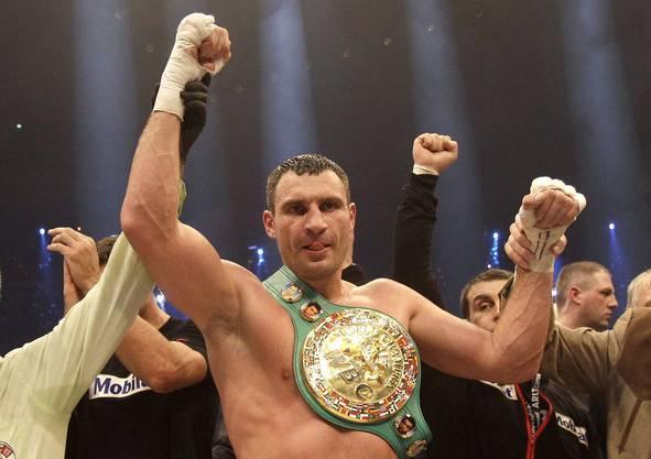 Der alte und neue Champion: Witali Klitschko