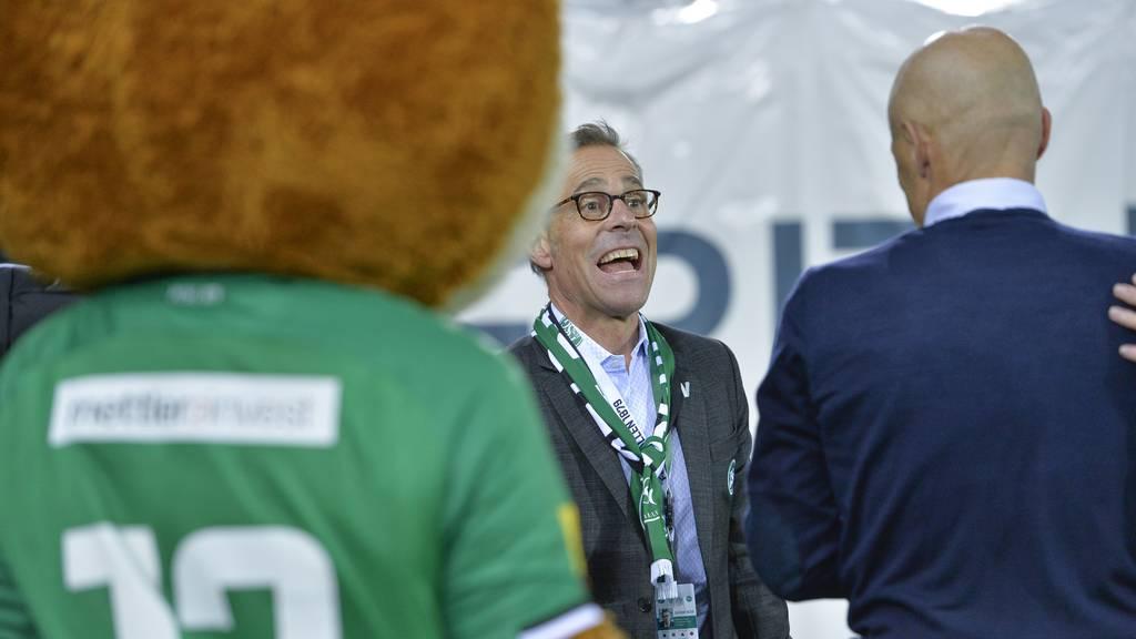 Matthias Hüppi: «Der Cup-Final bleibt ein Ziel»
