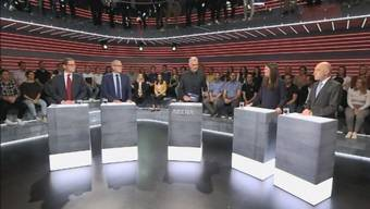 In der «Arena» trafen sich die Kandidierenden für den Ständerat im Kanton Zürich.