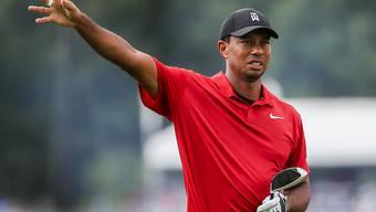 Tiger Woods: Jetzt müssen die Gegner das rote Leibchen in der Schlussrunde wieder fürchten