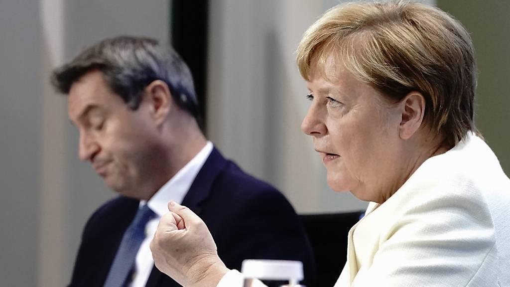 Bund-Länder-Runde will Kurs für Corona-Herbst und Fluthilfe klären