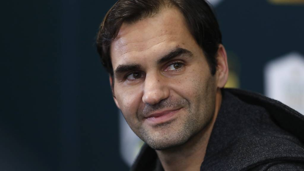 Roger Federer stellt vor seinem ersten Auftritt an den Swiss Indoors klar: «Solange ich aktiv bin, werde ich in Basel spielen.»