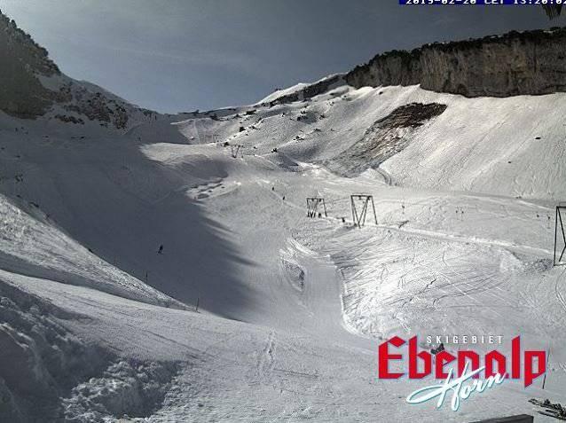 (Webcam Ebenalp Skigebiet)