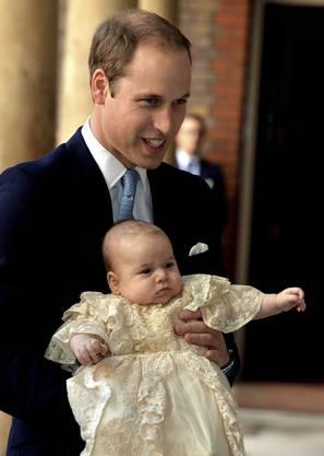 Prinz William mit George