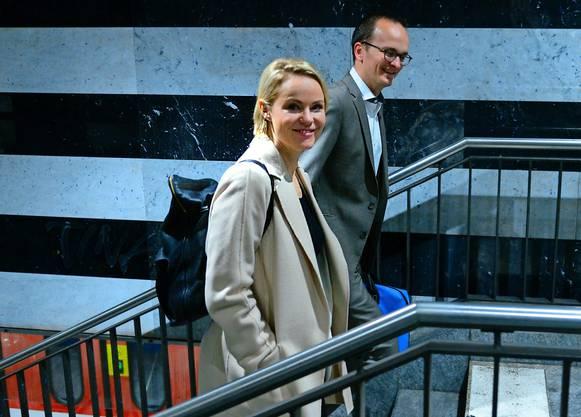 Treppensteigen in Zürich: «Er fürs Klima, ich für die Gesundheit.»