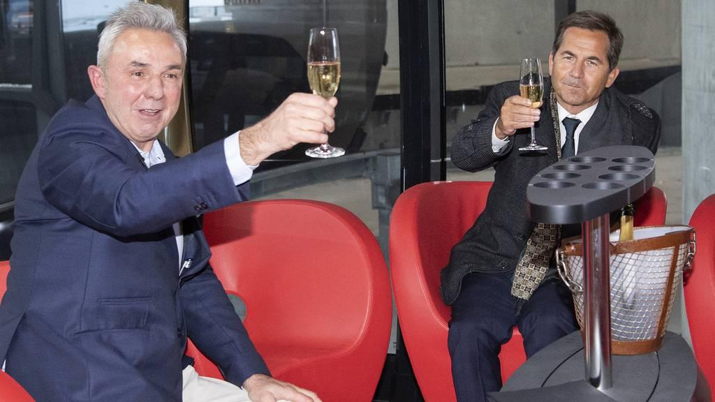 Schneller aufs Jungfraujoch: Grindelwald feiert Eröffnung der «V-Bahn»