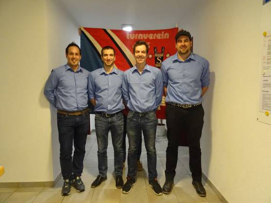 von rechts: Marco Schraner, Adrian Müller, Pascal Weiss, Jonas Obrist