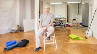«Es gibt noch sehr viel zu tun», sagt Lukas Huppenbauer in seinen Räumlichkeiten in der Altstadt.