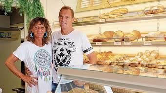 Kamen vor 24 Jahren nach Kölliken: Jolanda und Philipp Dietmann in ihrer Bäckerei.