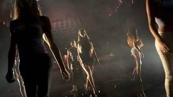 Probe für den Miss-Trans-Wettbewerb im HaBima-Theater in Tel Aviv