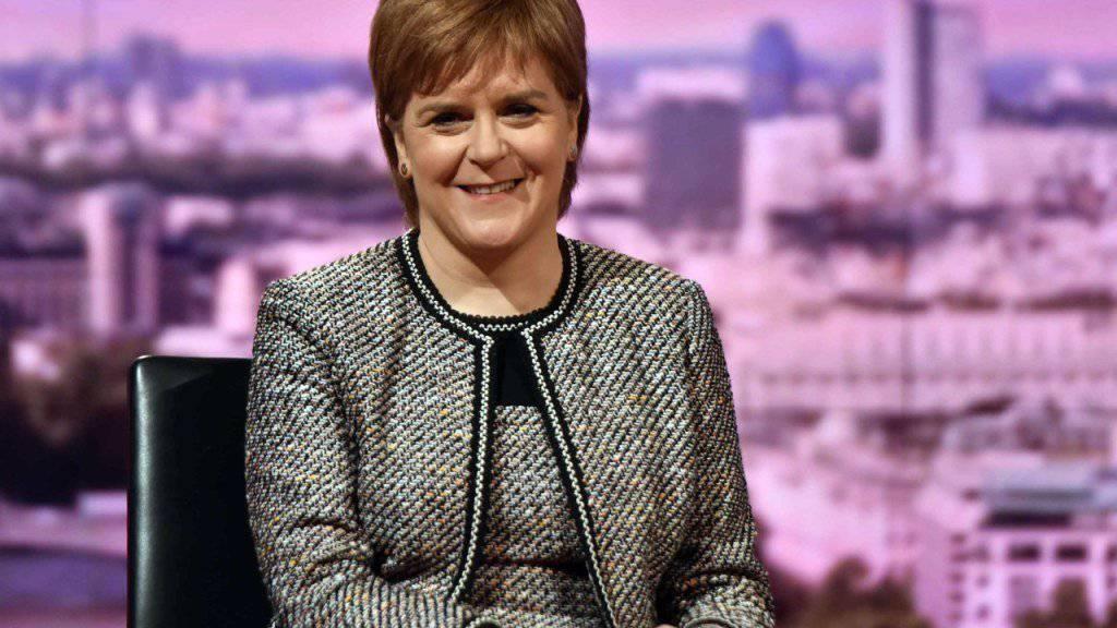 Die schottische Regierungschefin Nicola Sturgeon dürfte zufrieden sein: Das Regionalparlament in Edinburgh folgte ihrer Empfehlung und lehnte das Brexit-Gesetz der britischen Regierung ab. (Archiv)