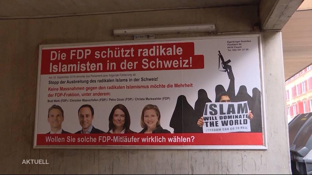 FDP reicht Strafanzeige gegen Egerkinger Komitee ein