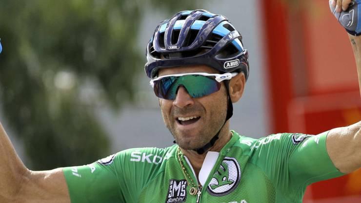 Endlich kommt die Krönung: Alejandro Valverde gewinnt den WM-Titel im Strassenrennen