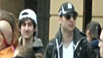 Verdächtige im Bombenattentat von Boston