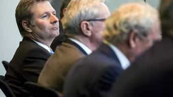 Keine höheren Gewinnsteuern: Der Luzerner Regierungsrat Marcel Schwerzmann während der Finanzdebatte im Kantonsrat.