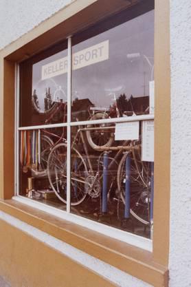 Walter Kellers erstes Geschäft in Endingen vor ca. 45 Jahren.