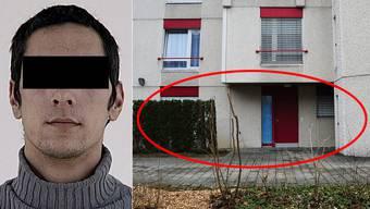 In dieser Wohnung in Wohlen wohnte Pablo S.