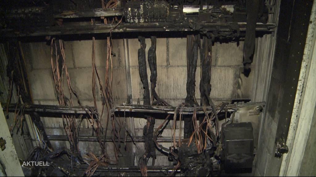 Brand in Elektrokasten: 20 Wohnungen in Rohr (AG) nicht mehr bewohnbar