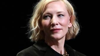 """Die Schauspielerin Cate Blanchett hat den Zuschlag für die Hauptrolle in der Filmadaption des Videospiels """"Borderlands"""" erhalten. (Archivbild)"""