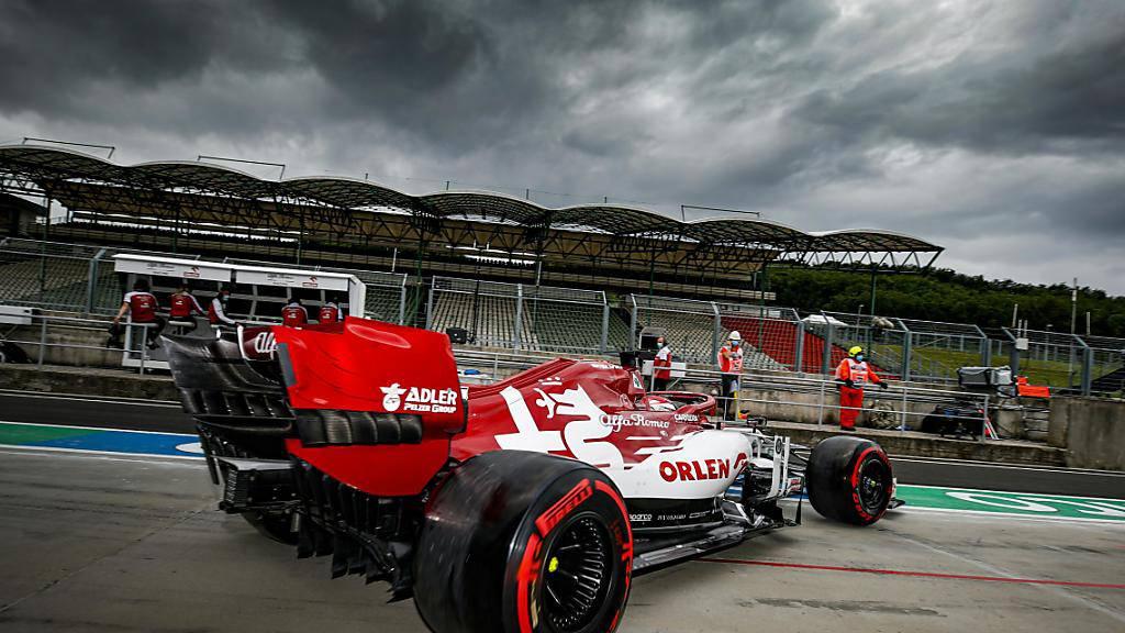 Dunkle Wolken über dem Team Alfa Romeo: Der Zürcher Rennstall verpasste mit Kimi Räikkönen (16.) und Antonio Giovinazzi (17.) die WM-Punkte in Ungarn deutlich