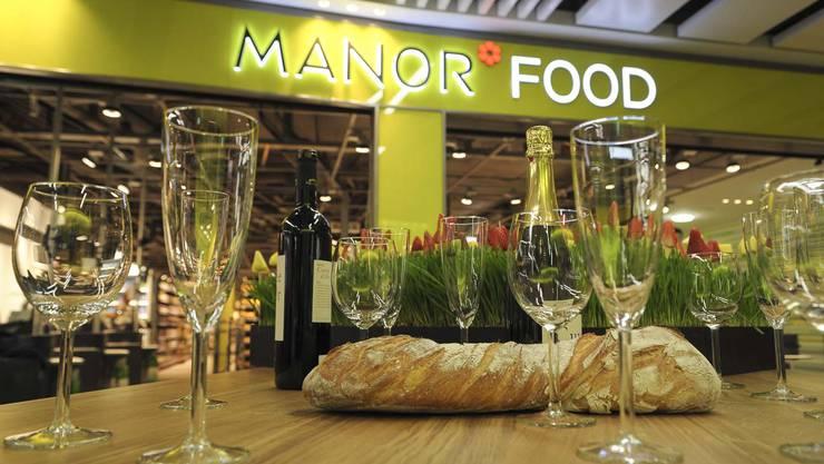 Die Manor Food baut um. Dann gibts Grund zum Feiern. (Archiv)