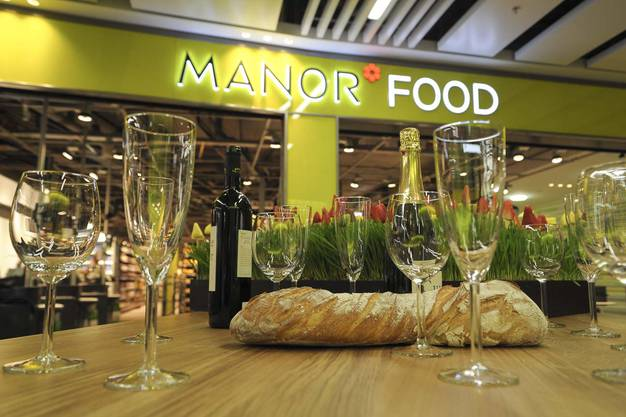 Die Manor Foodabteilung auf 1400 Quadratmetern.